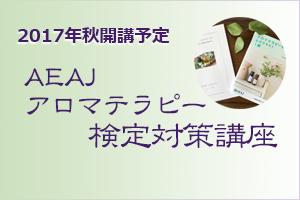 AEAJアロマテラピー検定対策講座
